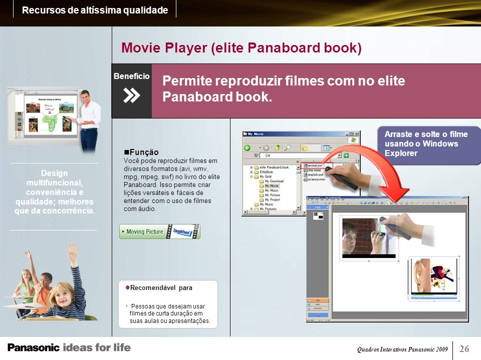 Movie Player (elite Panaboard book)
