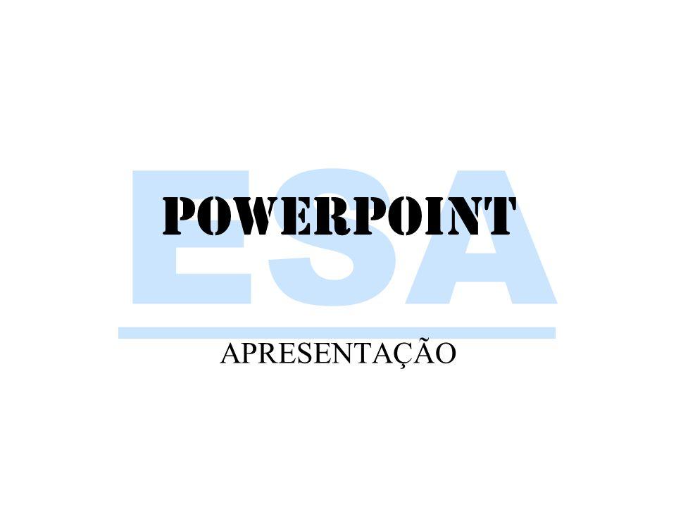 powerpoint APRESENTAÇÃO