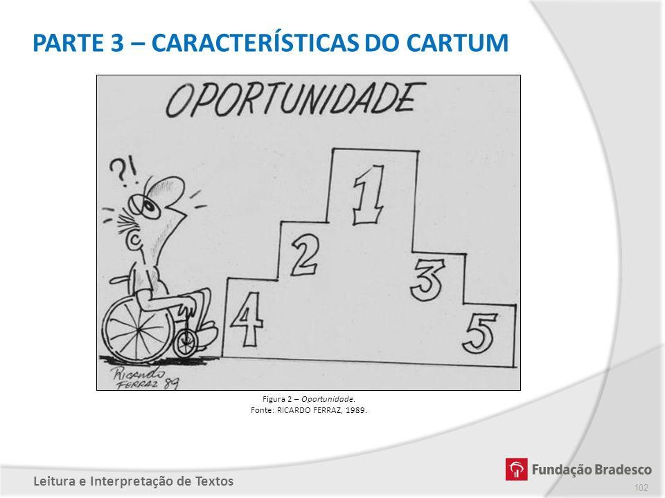 PARTE 3 – CARACTERÍSTICAS DO CARTUM