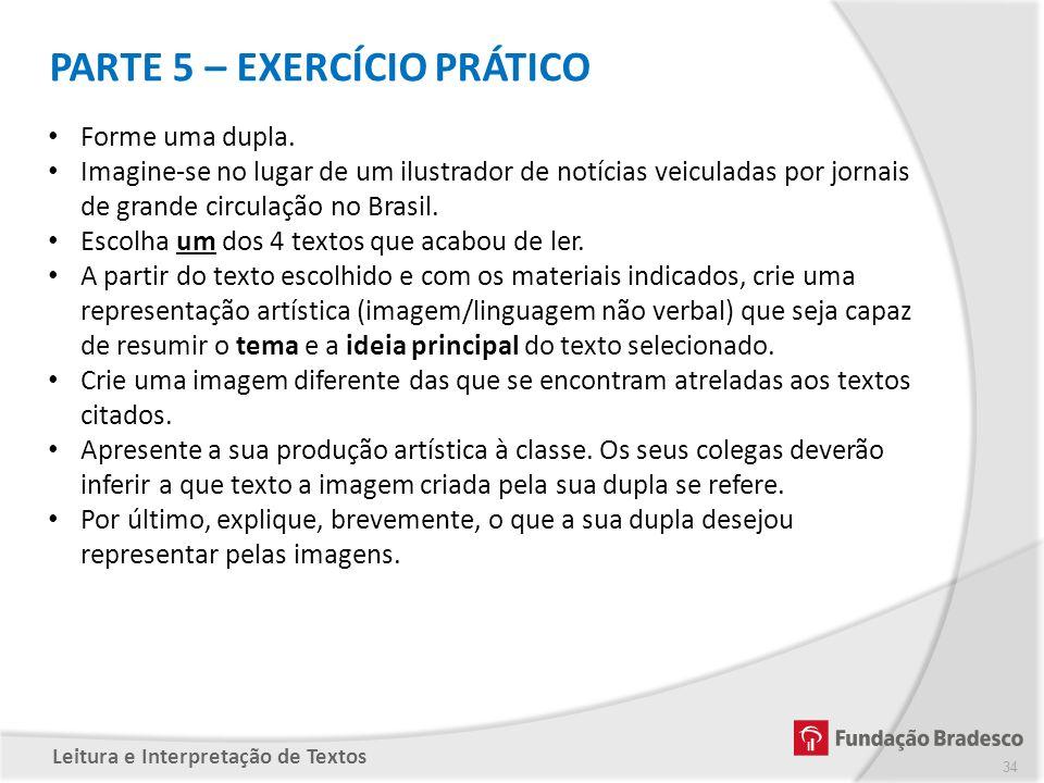 PARTE 5 – EXERCÍCIO PRÁTICO