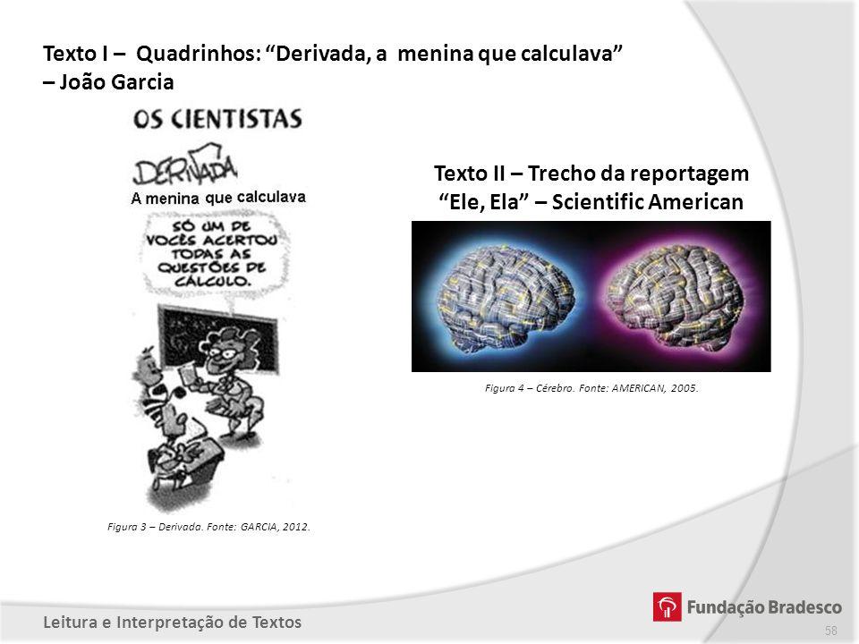 Texto II – Trecho da reportagem Ele, Ela – Scientific American