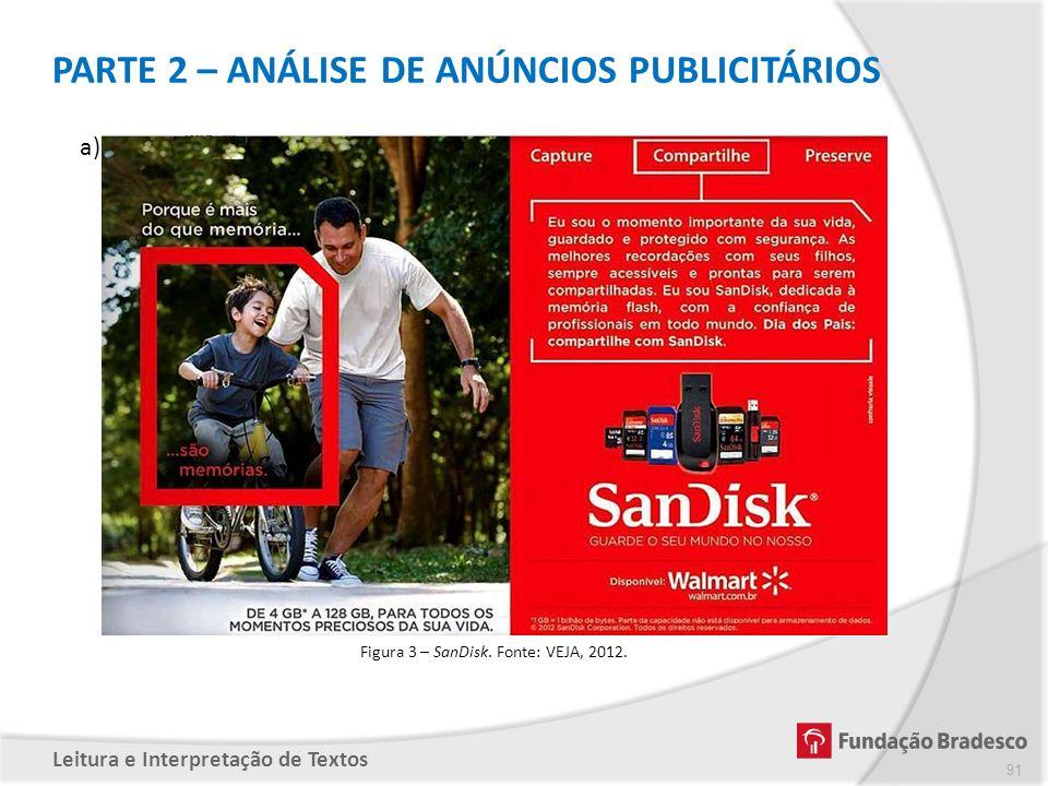 PARTE 2 – ANÁLISE DE ANÚNCIOS PUBLICITÁRIOS