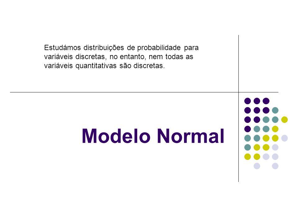 Estudámos distribuições de probabilidade para variáveis discretas, no entanto, nem todas as variáveis quantitativas são discretas.