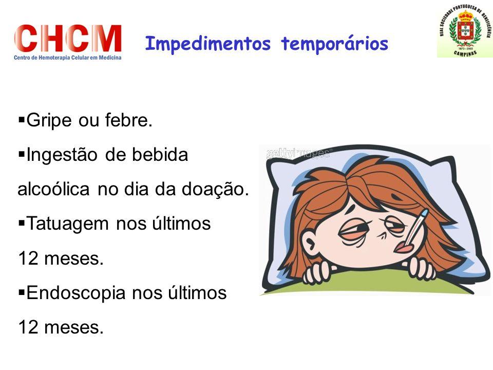 Impedimentos temporários