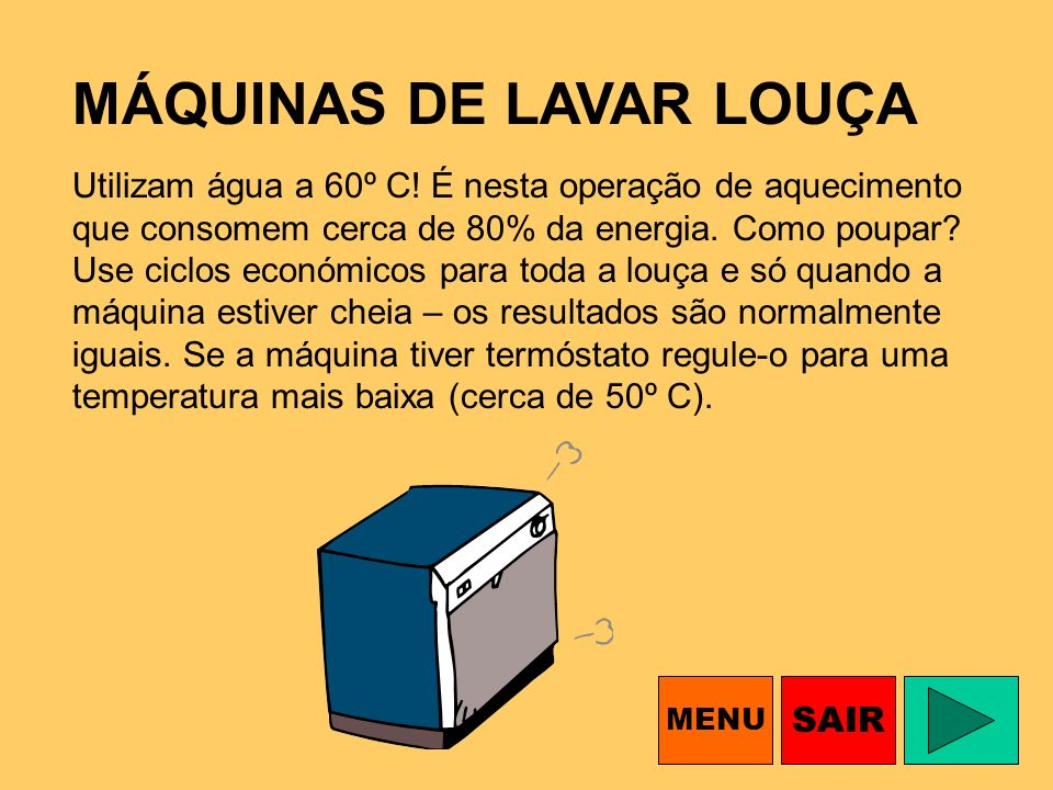 MÁQUINAS DE LAVAR LOUÇA