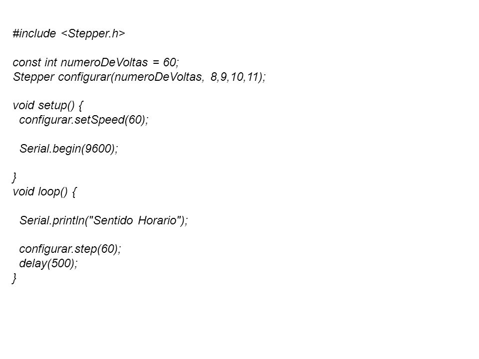 #include <Stepper.h>