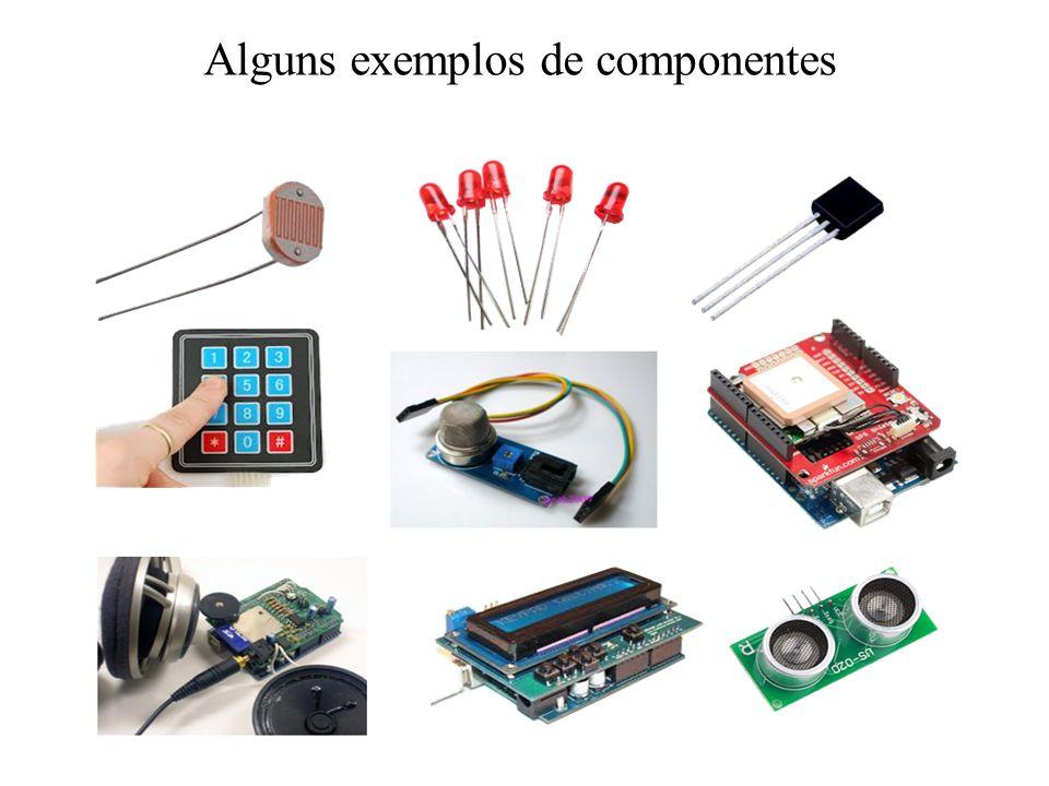 Alguns exemplos de componentes
