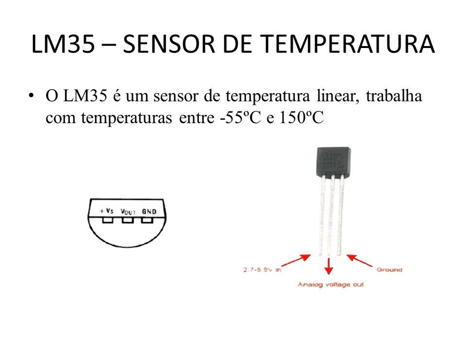 LM35 – SENSOR DE TEMPERATURA