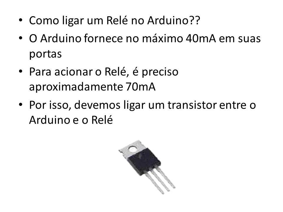 Como ligar um Relé no Arduino