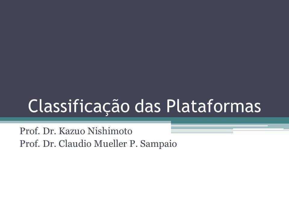 Classificação das Plataformas