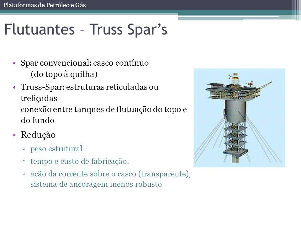 Flutuantes – Truss Spar's