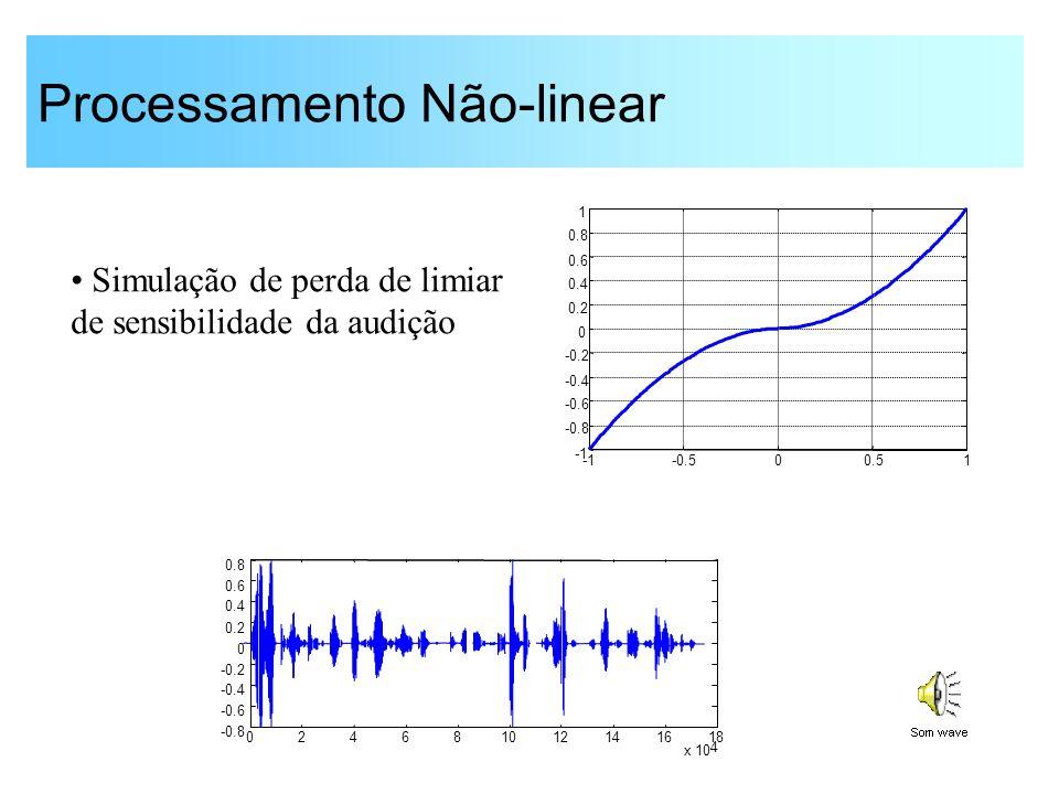 Processamento Não-linear
