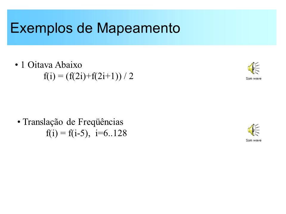 Exemplos de Mapeamento
