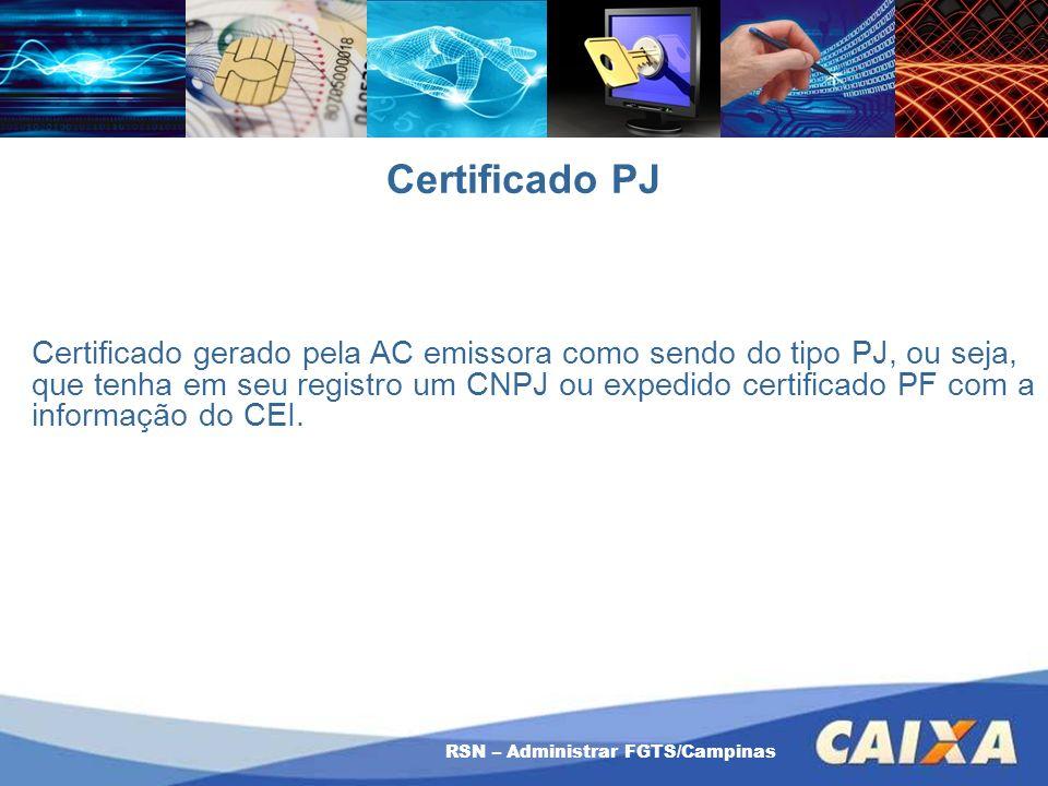 Certificado PJ