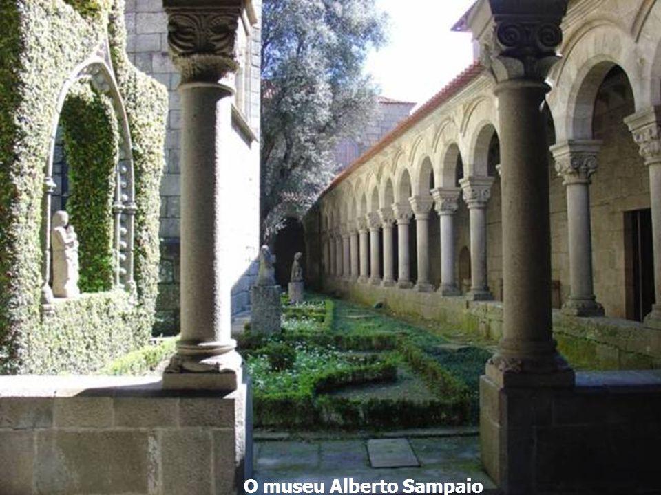 O museu Alberto Sampaio