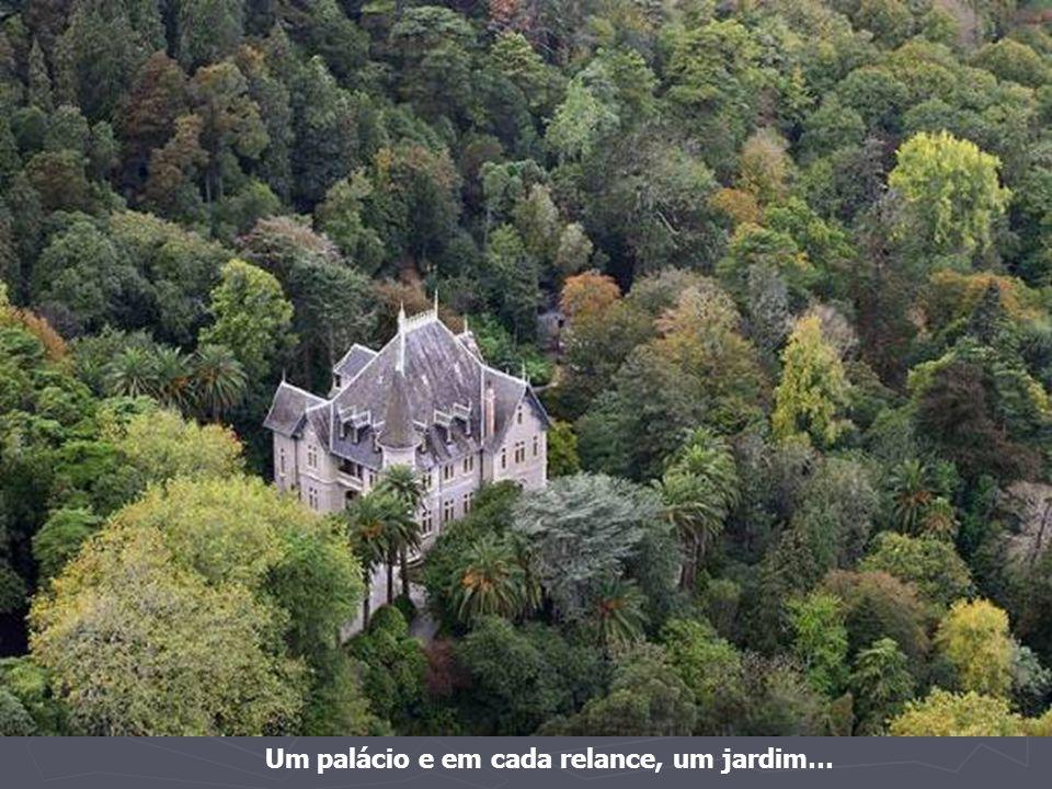 Um palácio e em cada relance, um jardim…