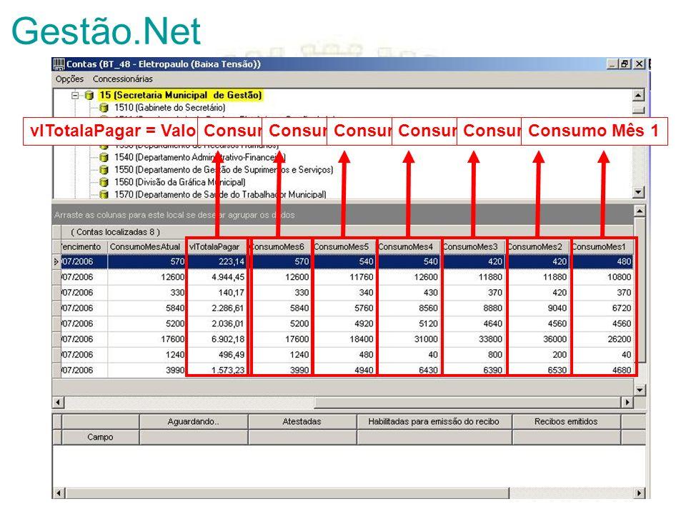 Gestão.Net vlTotalaPagar = Valor Total a Pagar Consumo Mês 6