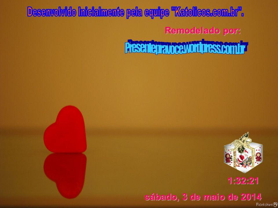 Desenvolvido Inicialmente pela equipe Katolicos.com.br .