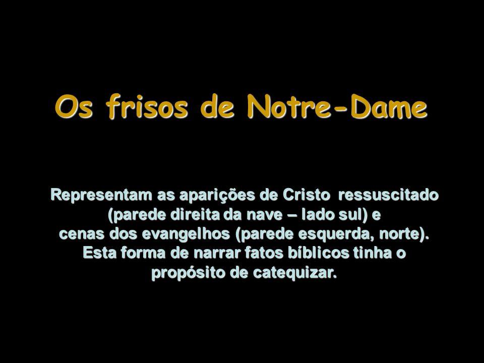 Os frisos de Notre-Dame
