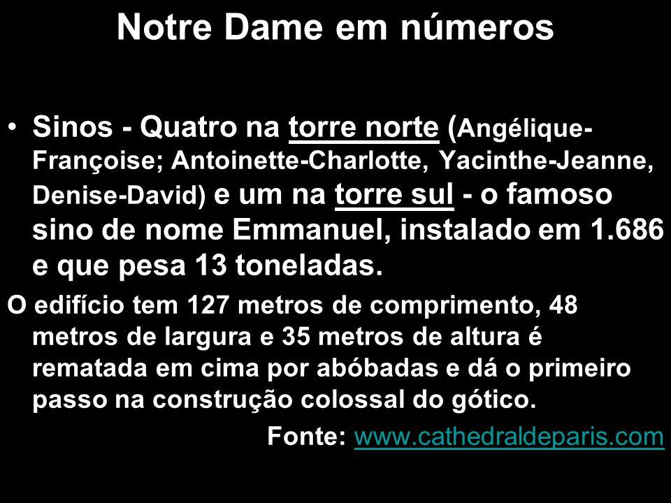 Notre Dame em números