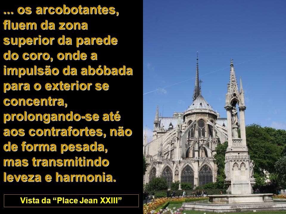 Vista da Place Jean XXIII