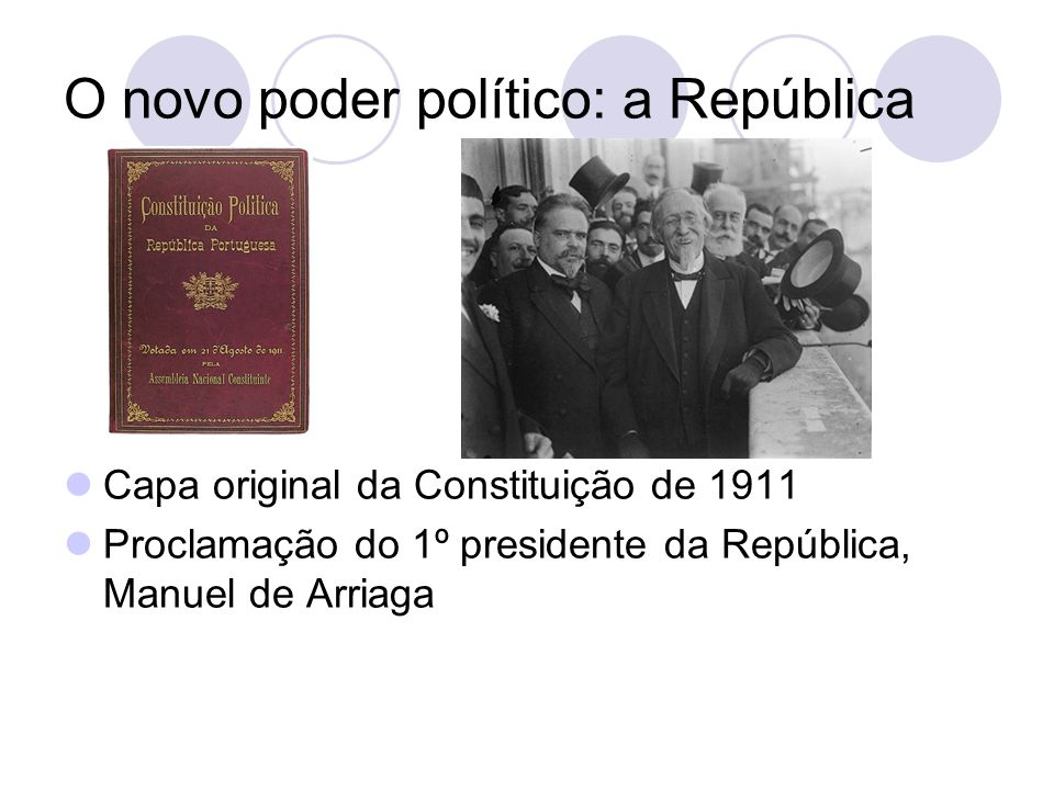 O novo poder político: a República