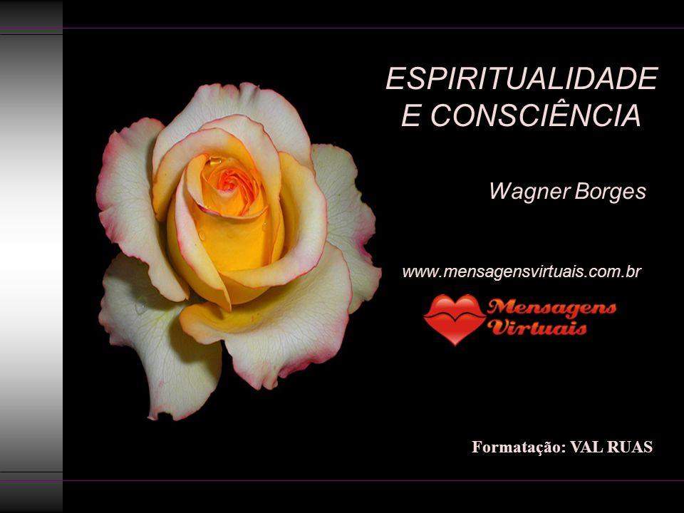 ESPIRITUALIDADE E CONSCIÊNCIA Wagner Borges www.mensagensvirtuais.com.br