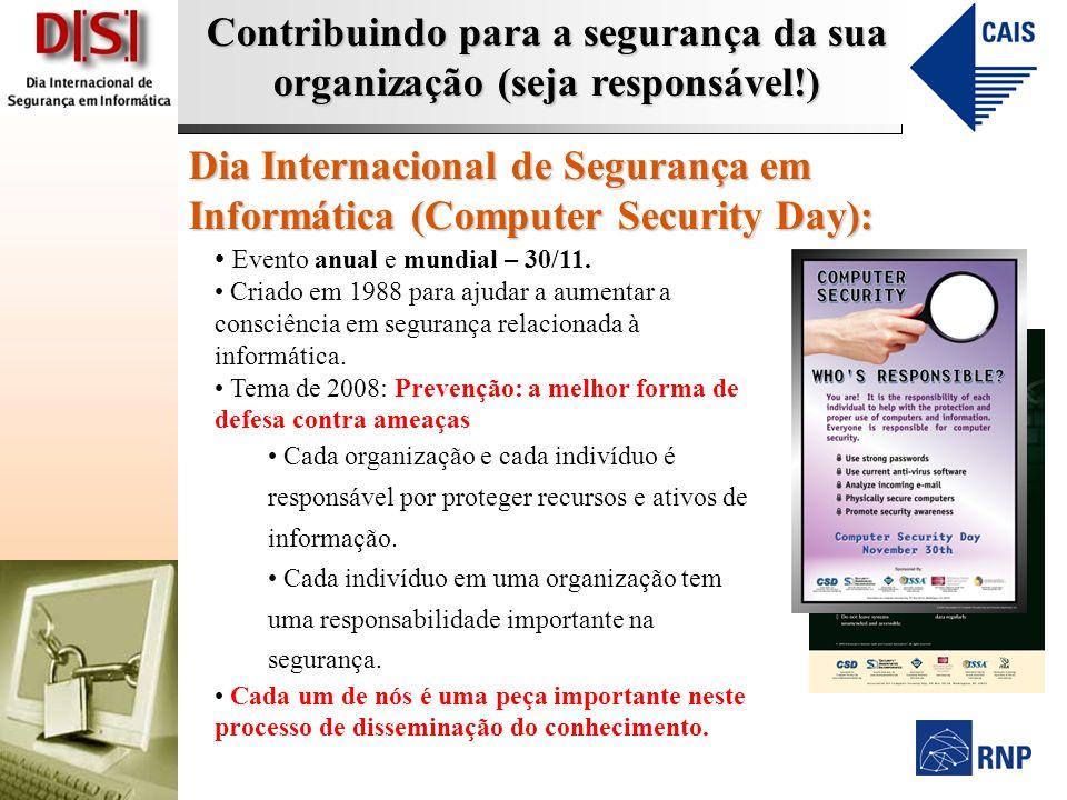 Dia Internacional de Segurança em Informática (Computer Security Day):