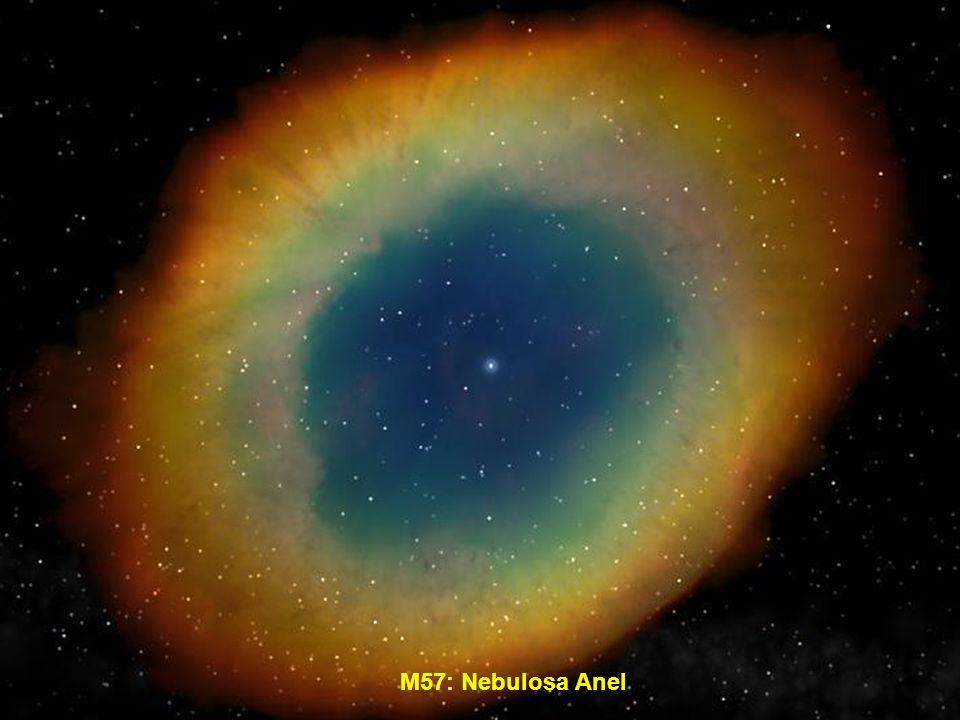 M57: Nebulosa Anel