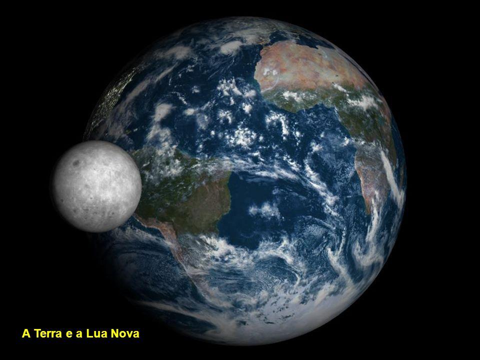 A Terra e a Lua Nova