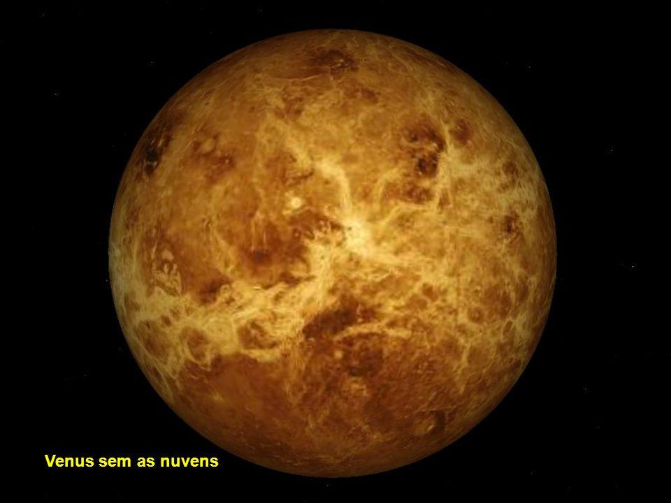 Venus sem as nuvens