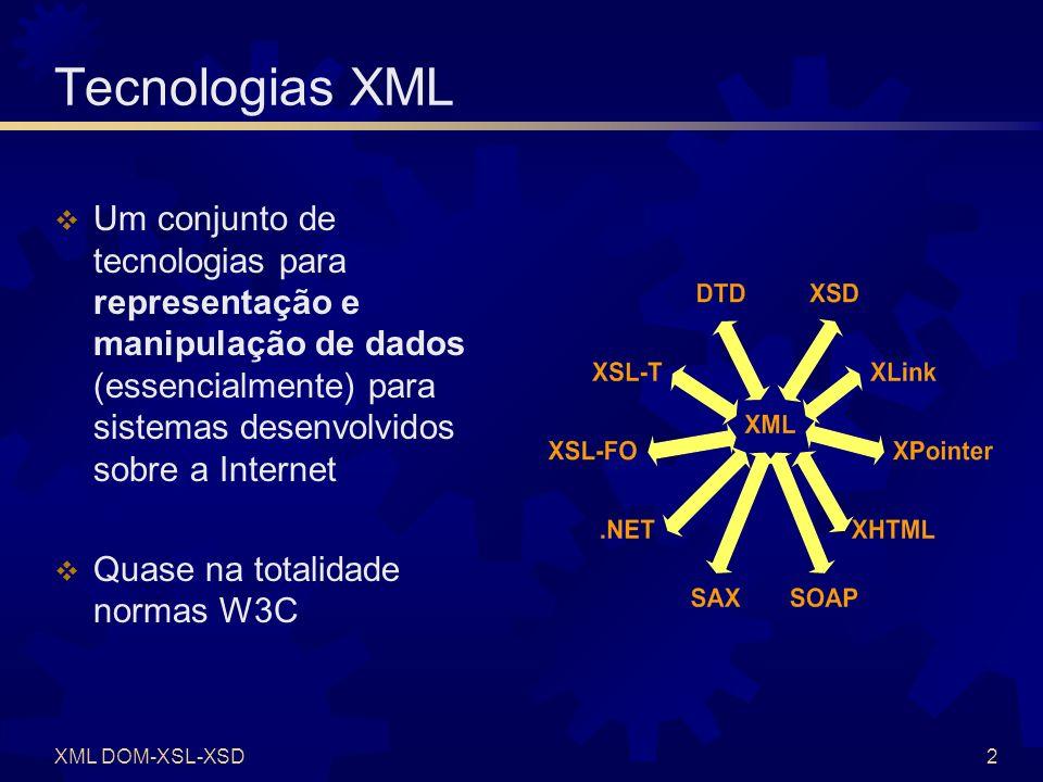 XSL XSL = eXtensible Stylesheet Language XSL-T (Transform)