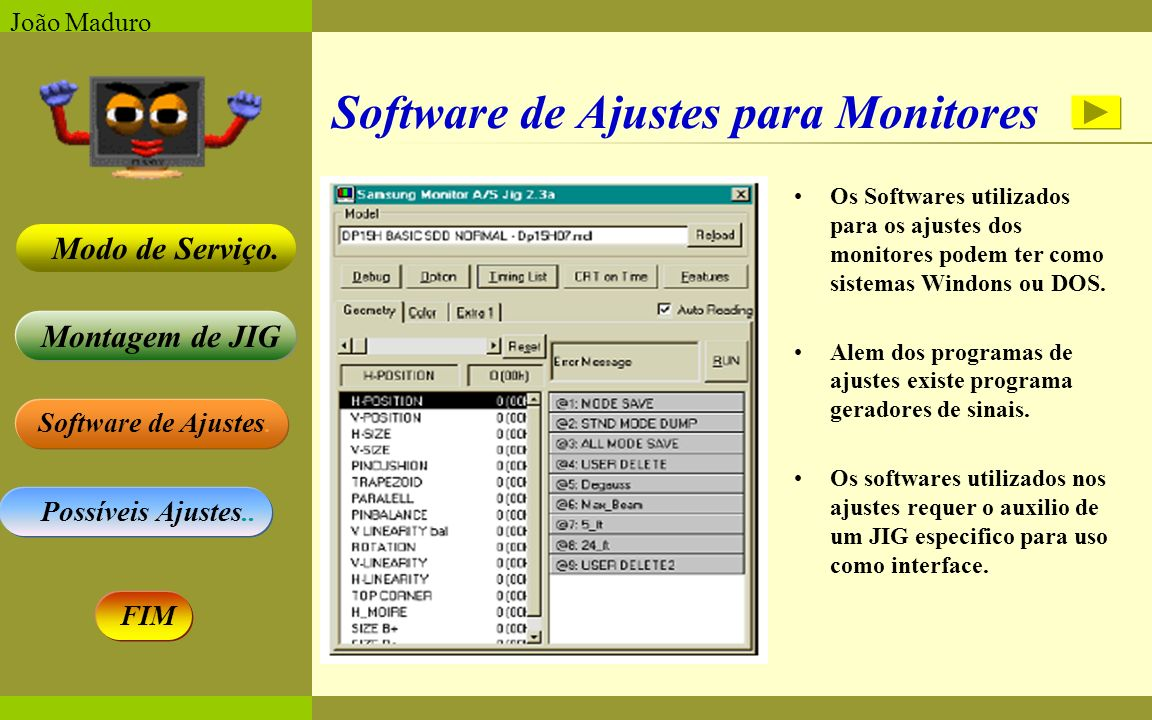 Software de Ajustes para Monitores
