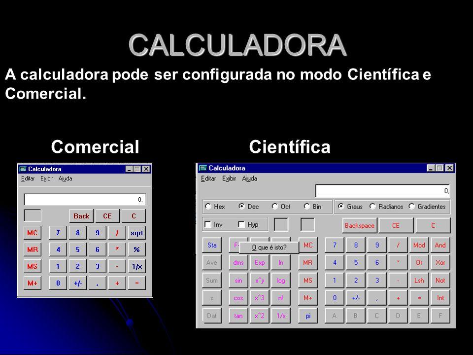 CALCULADORA Comercial Científica