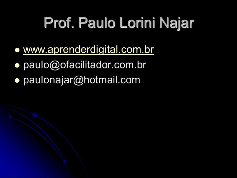 Prof. Paulo Lorini Najar