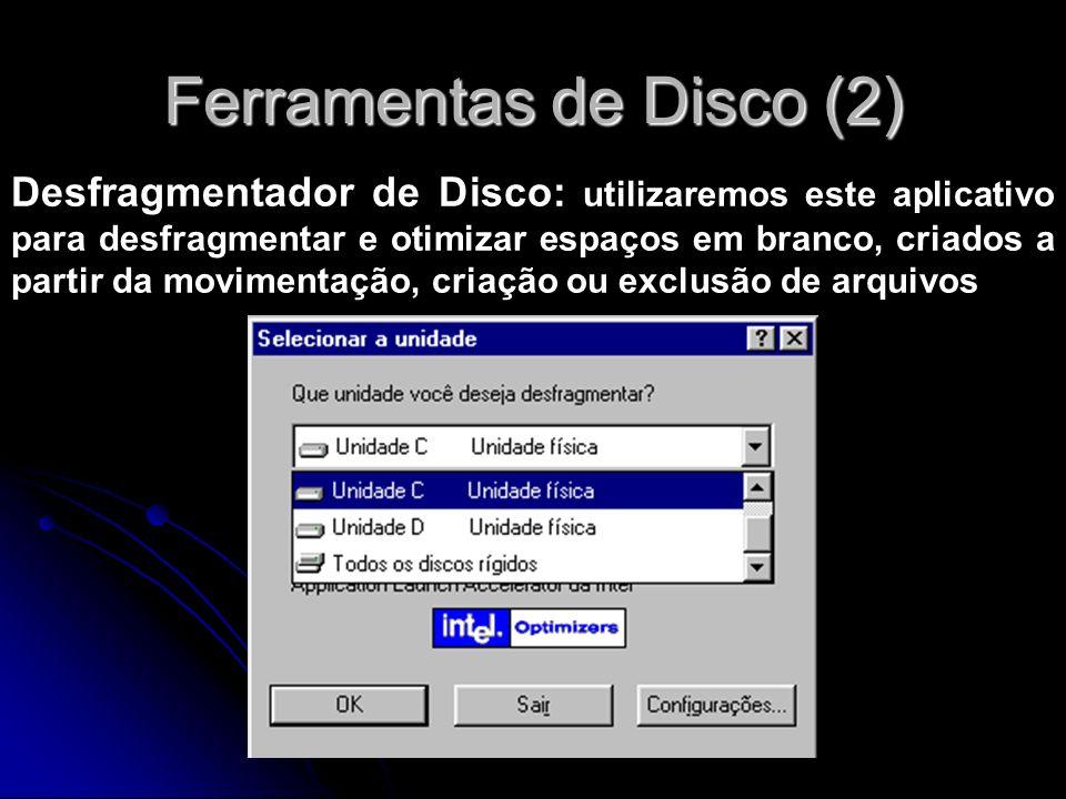 Ferramentas de Disco (2)