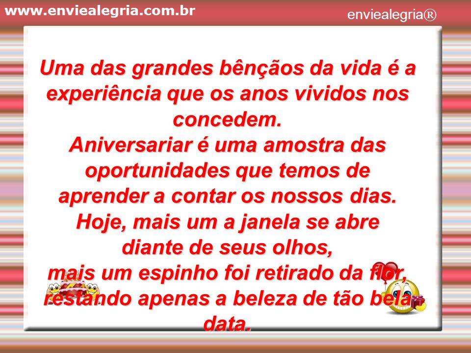 www.enviealegria.com.br enviealegria®