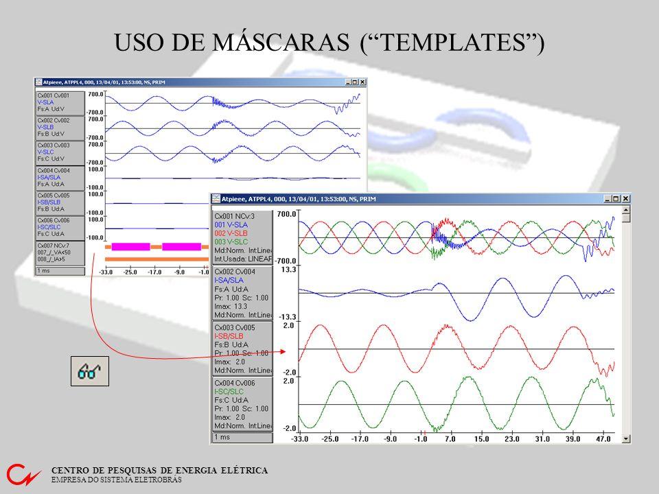 USO DE MÁSCARAS ( TEMPLATES )
