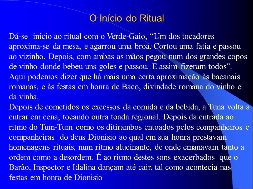 O Início do Ritual
