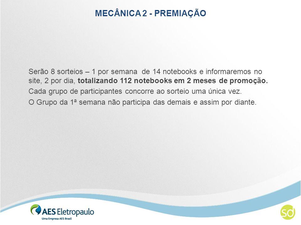 MECÂNICA 2 - PREMIAÇÃO