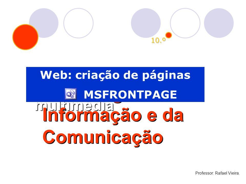 Web: criação de páginas