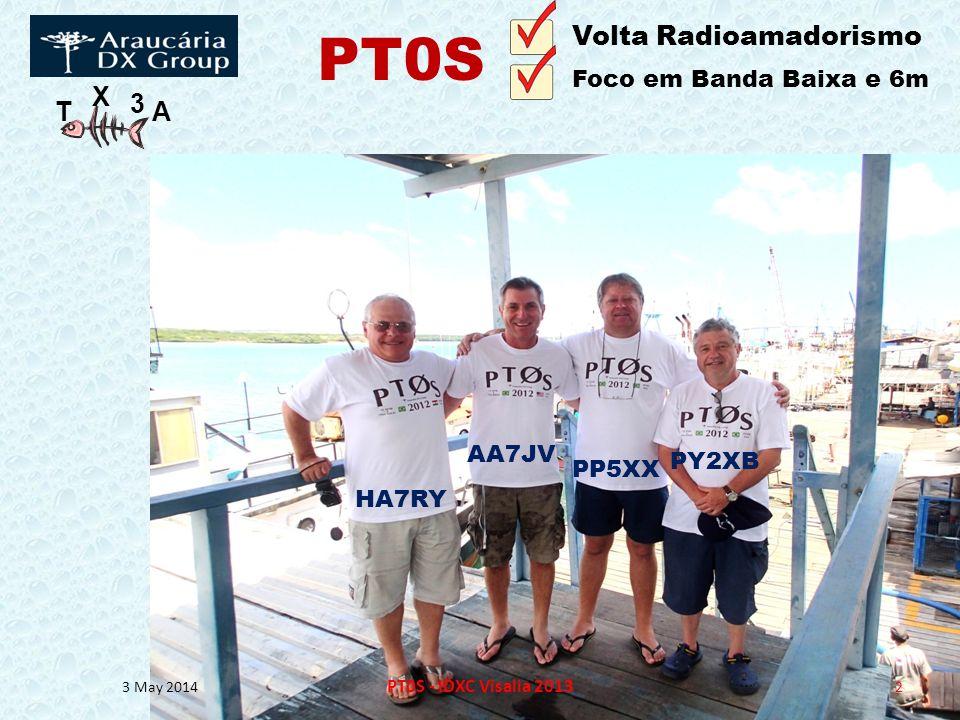 PT0S Volta Radioamadorismo Foco em Banda Baixa e 6m AA7JV PY2XB PP5XX