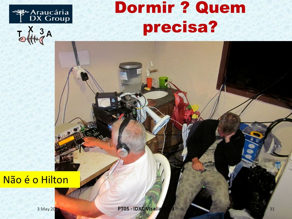 Dormir Quem precisa Não é o Hilton PT0S - IDXC Visalia 2013