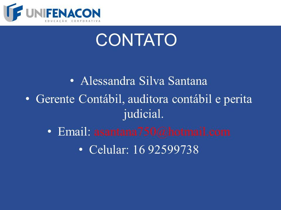 CONTATO Alessandra Silva Santana