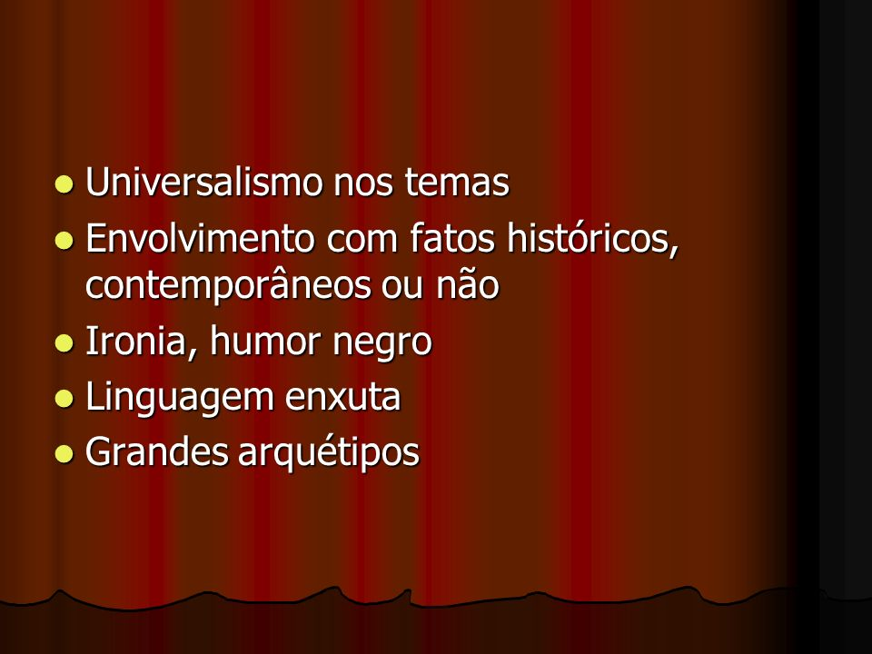 Universalismo nos temas
