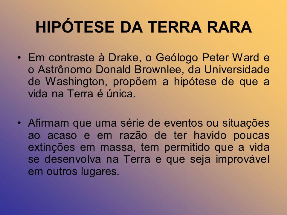 HIPÓTESE DA TERRA RARA
