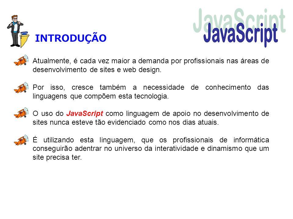 JavaScript INTRODUÇÃO