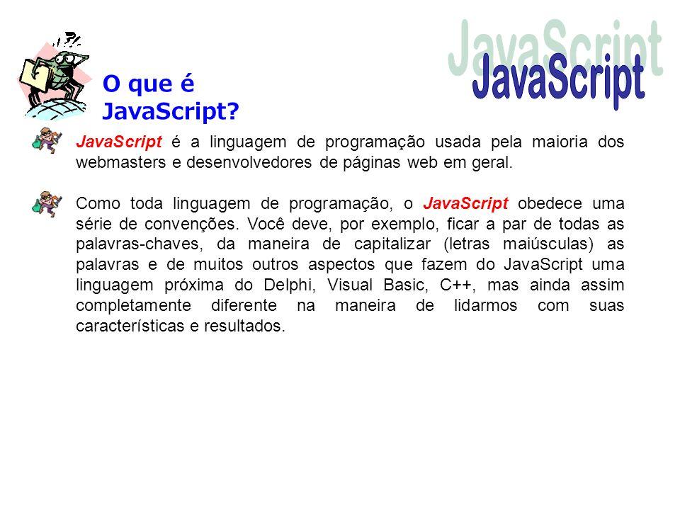 JavaScript O que é JavaScript