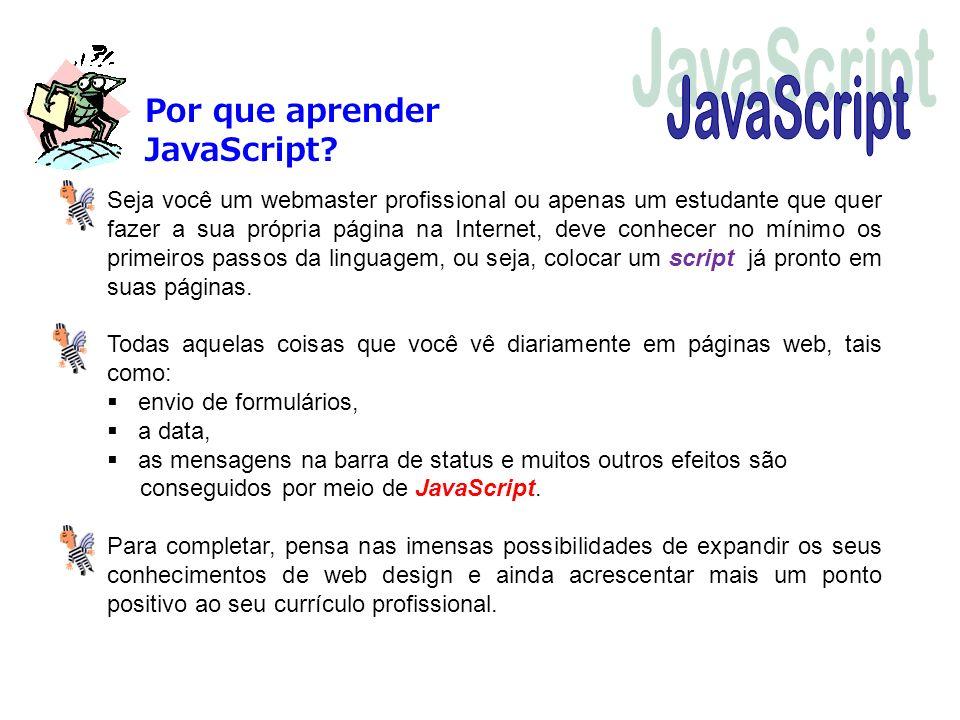 JavaScript Por que aprender JavaScript