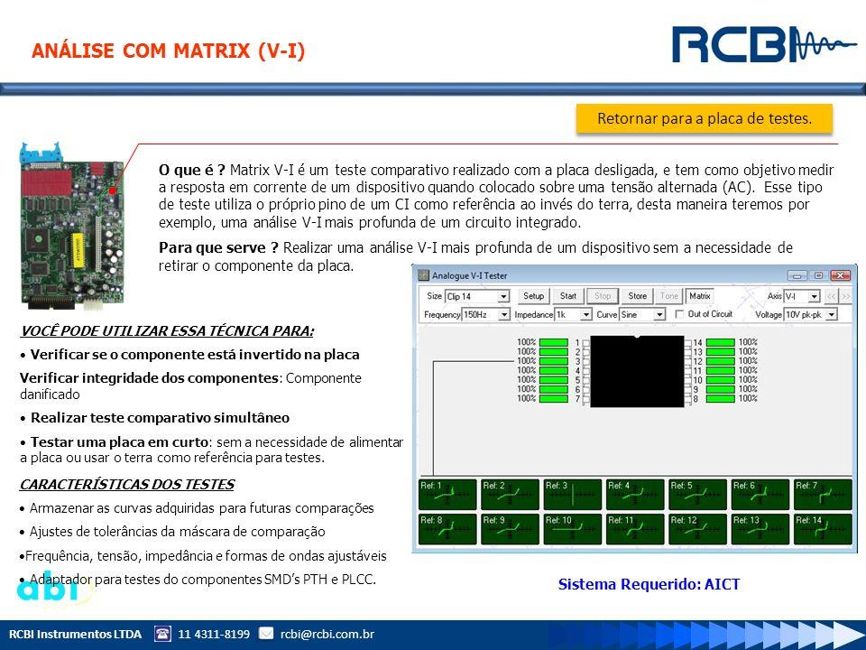 Sistema Requerido: AICT